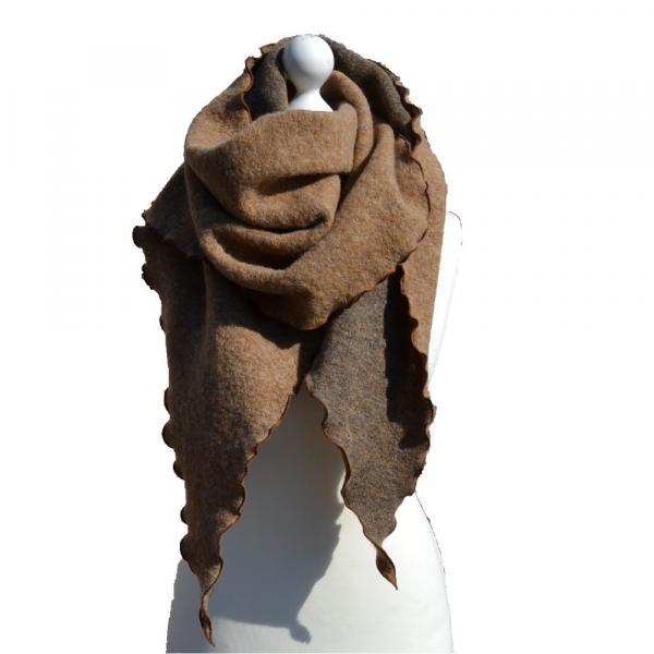 Schal Lola uni camel